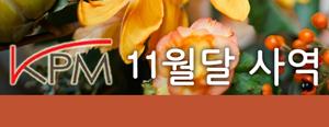 2013 KPM 11월달 사역